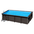 Piscina composite rectangular 606x326x124 cm